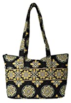 Stephanie Dawn Zip Tote - Queensbury * New Quilted Handbag USA 10016-013