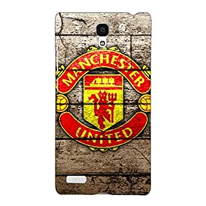 Jugaaduu Manchester United Back Cover Case For Redmi Note 4G