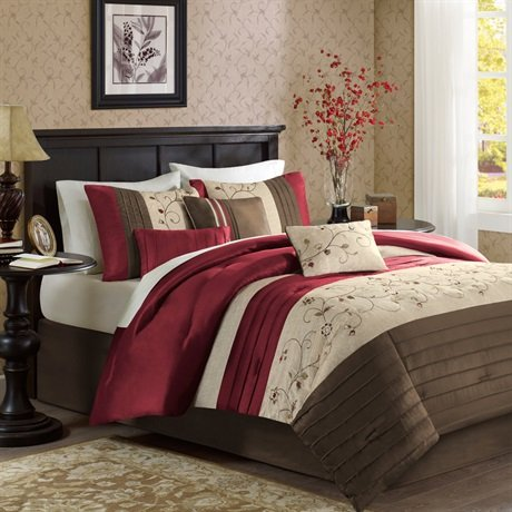 Madison Park Serene 7 Piece Comforter Set Size: California King front-938937