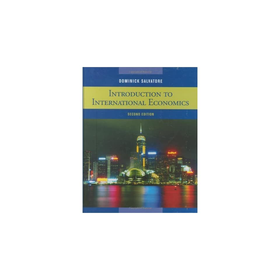 Ebook dominick economics salvatore international