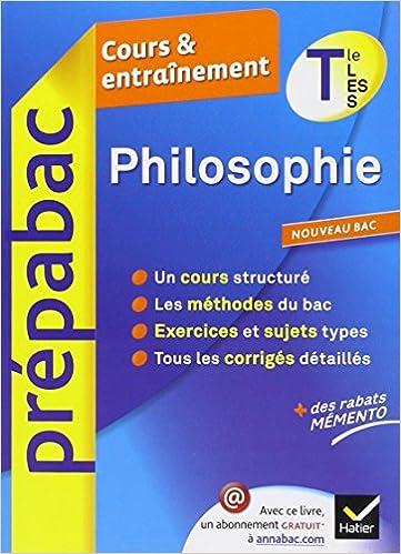 Corrigs de sujets de dissertations de philosophie