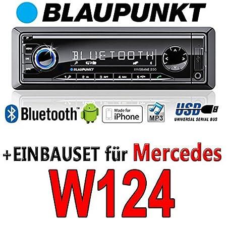 Mercedes-benz w124 classe e brisbane bLAUPUNKT - 230/mP3/uSB avec kit de montage autoradio avec bluetooth