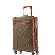 Hartmann Tweed Belting Mobile Traveler Expandable Spinner 26