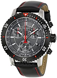 Tissot PRS 200 Chrono Black Dial Men's watch #T067.417.26.051.00