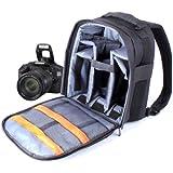 Sac à Dos SLR Résistant aux Projections d'eau + Bandoulières Réglables pour la gamme Canon EOS D