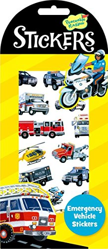 Peaceable Kingdom Emergency Vehicle Sticker Pack
