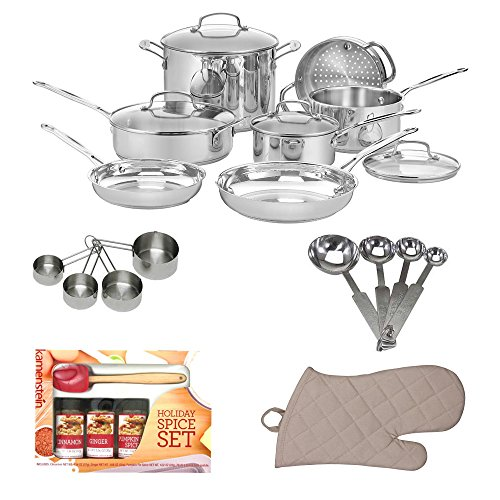 Awardwiki cuisinart 77 11g chef 39 s classic stainless 11 for Kitchen set classic