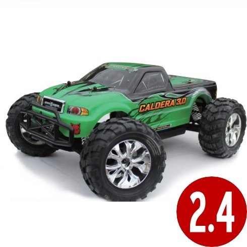 Caldera 3.0 RC  1/10 Scale RC Car ~ NITRO  Monster Truck (2 Speed)  RC Car