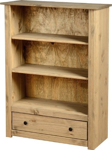 4254e7801cbe ... colour this bookcase makes a useful addition while adding rustic charm  to any room. The Panama Range gives a country feel to your home and comes  flat ...