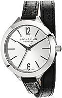 Stuhrling Original Leisure Analog Silver Dial Women's Watch - 568.01