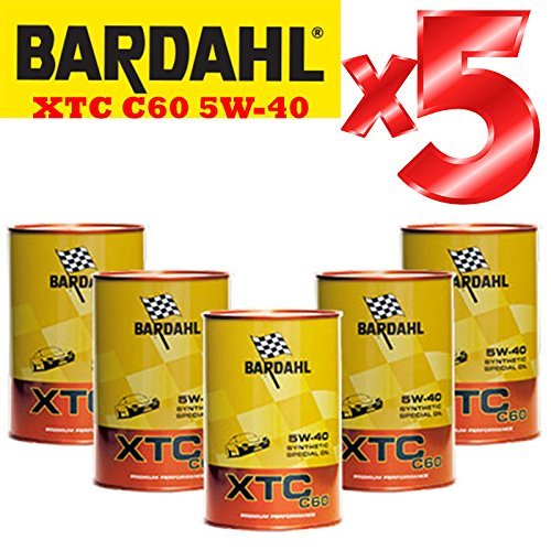 Olio-motore-auto-Totalmente-Sintetico-Bardahl-XTC-C60-5W-40-Offerta-5-Litri-Shell-Advance-Helmet-Visor-Spray-Pulitore-casco-Finestrini-auto-piastrelle-specchi-e-vetri-casa