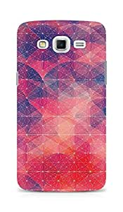 Amez designer printed 3d premium high quality back case cover for Samsung Galaxy Grand Max (red pattern )