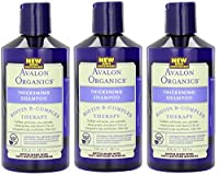 Avalon Organics Biotin B-complex Therapy Thickening Shampoo 14 Oz by Avalon Organics