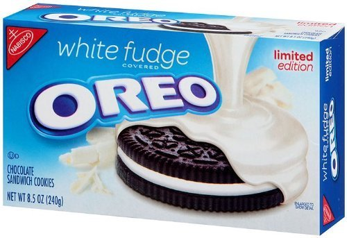 White Fudge Oreo Limited Edition, 8.5 oz (Oreo Churros compare prices)