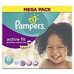 Pampers Mega Box Active Fit Nappies S...