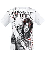 Bullet For My Valentine Russian Roulette T-Shirt weiß