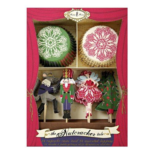 The Nutcracker Christmas Cupcake Kit