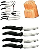 Miracle Blade III 16 Piece Knife and Block Set