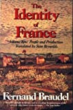 Identity of France: People and Production (0060921420) by Braudel, Fernand