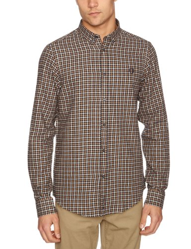 Ben Sherman Long Sleeve Regular Fit MB1315M Men's Malt Small