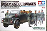 Tamiya 1/35 German Steyr 1500A w/7 Figures - Kommandeurwagen HQ Staff Set