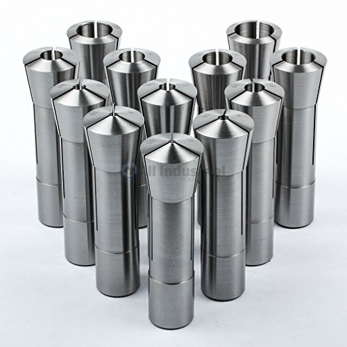 12-Pc-R8-Collet-Set-Metric-3mm-to-22-mm-High-Precision-for-Bridgeport-12-Piece