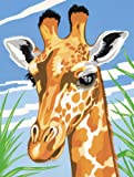 Paint By Numbers Medium Giraffe Painting