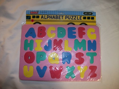 Cheap Greenbrier International Alphabet Floor Puzzle by Educational Toys – teaches children the alphabet – will ship in assorted colors (B004SC94LM)