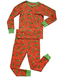 Leveret Aligator 2 Piece Pajama 12 Year