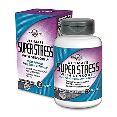 Optim Nutrition Ultimate Super Stress With Sensoril (120 Tabs)