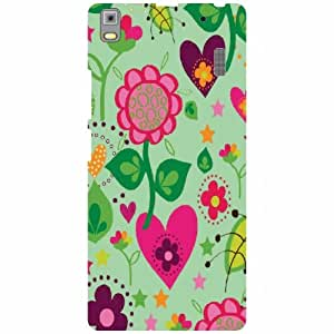 Back Cover For Lenovo A7000 PA030023IN (Printed Designer)