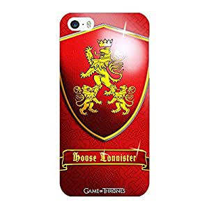 Jugaaduu Game Of Thrones GOT House Lannister Back Cover Case For Apple iPhone 5c