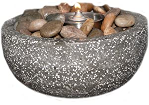 Deeco Consumer Products Rock Stone Fire Pot
