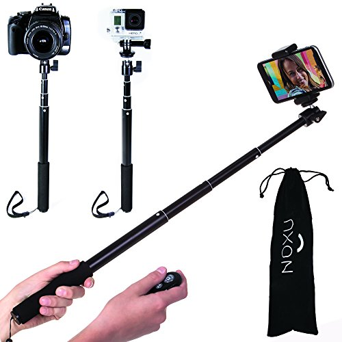 the best selfie stick noxu self portrait monopod with remote bluetooth self. Black Bedroom Furniture Sets. Home Design Ideas