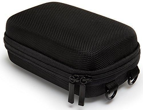 bundlestar-pure-black-funda-para-camaras-color-negro-talla-l-con-correa-para-hombro-y-pasador-para-c