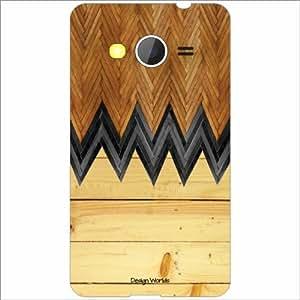 Design Worlds - Samsung Galaxy Core 2 Designer Back Cover Case - Multicolor...