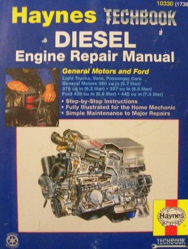 used  gd  haynes diesel tech book engine repair manual general motors   ford  h 9781563921353