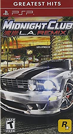 Midnight Club: LA Remix - Sony PSP