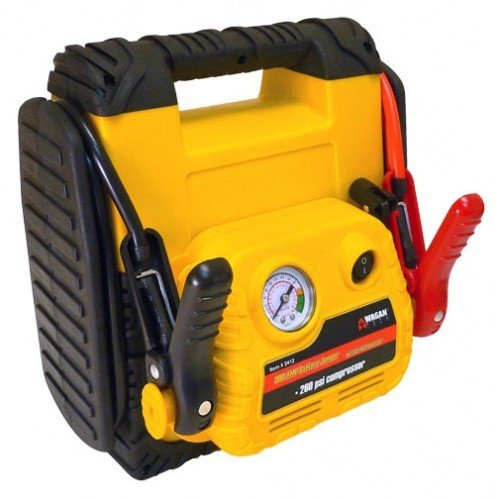 Durable Powerful Wagan 900Amp Jump Starter With Air Compressor