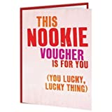 Nookie Voucher Valentine Card