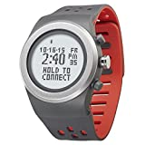 LifeTrak Zone R420 Adjustable Heart Rate Watch, Gray/Sport Red