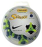 CHAMP(チャンプ) ゴルフシューズ靴鋲 スティンガー NIKE(ナイキ) (T-LOK)(ティーロック)18P  S-97 黒/緑