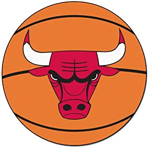 Fanmats Sports Team Logo NBA - Chicago Bulls Basketball Mat by Fanmats