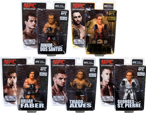 Georges St Pierre Round 5 UFC Ultimate Collector Series 7 Action Figure