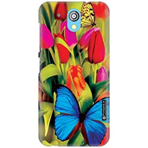 Printland Designer Back Cover for HTC Desire 526G Plus - Colorful Case Cover