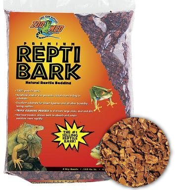 Reptile Bark Fir Bedding, 8 Quarts