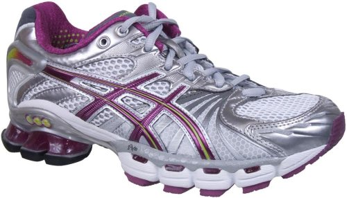 Cheap Sale Asics Lady GEL-Kinsei 3 Running Shoes - Grey Purple ... 1a127bb23a