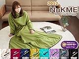 ヌックミー NUKUME 着る毛布 ECO部屋着 180cmサイズ ノルディックカラー ワイン