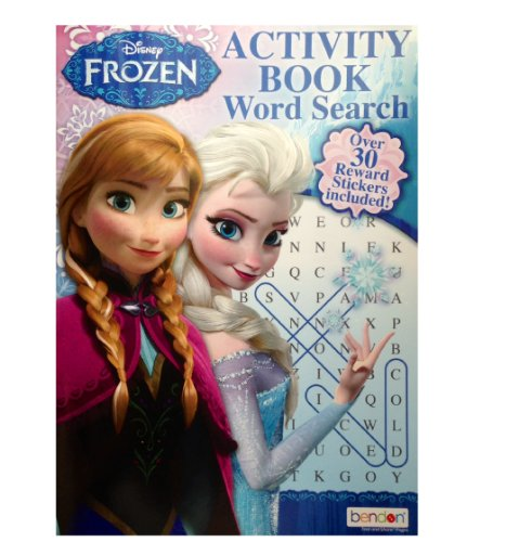 Disney Frozen Activity book Word Search - 1