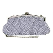 Patzino 1337 Evening Bag in Silver